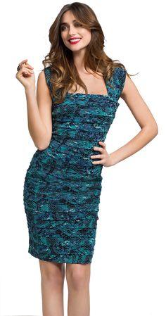 Harlow - Pleated Mesh Dress $149.99 #NewSeasonStyle #springsummer #fashion