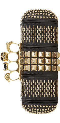 Alexander McQueen Knuckle Duster Clutch