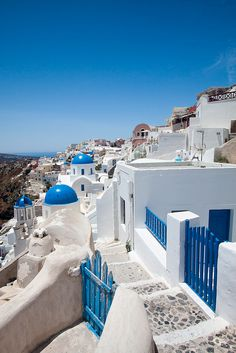 Santorini, Greece: it's at the top of my travel list! I was so close last spring, but didn't quite make it