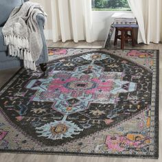 Wundervoll Safavieh Artisan Bohemian Anthracite / Light Grey Rug (7u0027 X ...