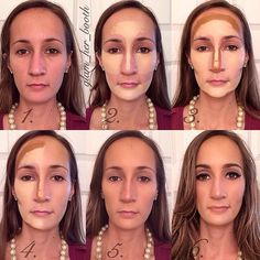 No1 magazine long hair nails and makeup pinterest long shareig ive had a lot of requests for contouring for different face shapes a question i get often is if i already have a slenderlong face can i ccuart Gallery