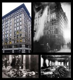 Triangle Shirtwaist Factory Fire - why unions are necessary? This is one example of why.