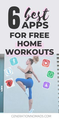 If you travel a lot, you probably know that it is difficult to stay healthy and fit. Here are 6 free apps that you can use to complete a hotel room workout. Best Free Workout Apps, Best Free Fitness Apps, Free Apps, Easy Workouts, At Home Workouts, Help Losing Weight, Lose Weight, Weight Loss, Hotel Room Workout