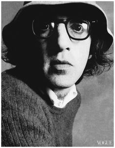 Woody Allen Photographed by Irving Penn, Vogue, December 1972