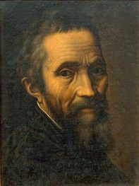 Self portrait, Michelangelo Buonarroti, 1475-1564 One is left without words. This is the Renaissance Man par excellence of the High Renaissance. He could do anything, and he did most of it.