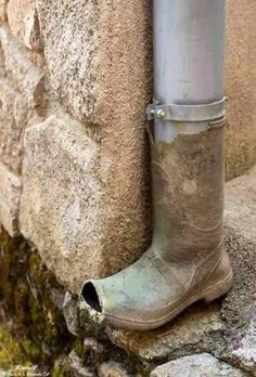 recycled Wellie