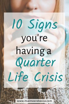 10 signs that you're having a quarter life crisis. Tips for spotting a quarter life crisis. Feeling Lost, Feeling Stuck, How Are You Feeling, Turning 25, The Twenties, Roaring Twenties, Quarter Life Crisis, Nervous Breakdown, Life Choices