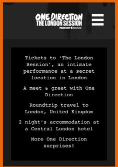 838 best one direction images on pinterest celebrities 1d and 1d london session click pin for details dates contests and rules m4hsunfo