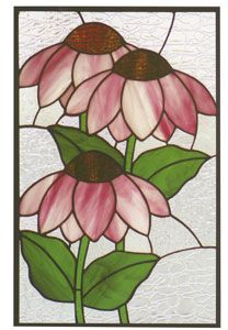 Summer Garden - Diy How to Crafts Stained Glass Patterns Free, Stained Glass Quilt, Stained Glass Flowers, Stained Glass Designs, Free Mosaic Patterns, Stained Glass Suncatchers, Faux Stained Glass, Stained Glass Panels, Stained Glass Projects