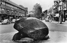 De 's-Gravelandscheweg in Hilversum bij de Kei omstreeks 1959