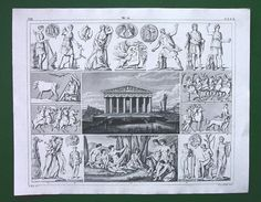 GODS Idols of Greeks Juno Diana Europa Panathenean by martin2001