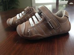 Baby Boy Shoes: Baby Gap Toddler Boy Size 5 Brown Leather Sherpa ...