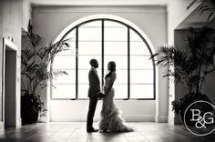 Beautiful bride & groom at Terranea Resort.