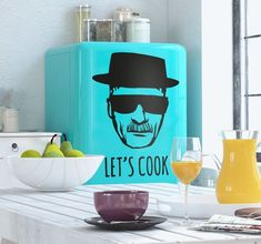 Decorate your kitches with this awesome Breaking Bad Sticker. Let's cook! #BreakingBad #TVShows #home_decor #decoration #Style #Lifestyle #Home #House #Wallstickers #Wandtattoos #Living