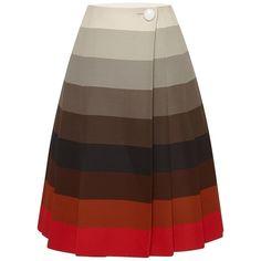 Jonathan Saunders Valery Skirt (8,070 EGP) ❤ liked on Polyvore featuring skirts…