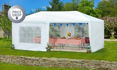 Groupon Goods Global GmbH: Gazebo Party Tent from £34.99 With Free Delivery (Up…