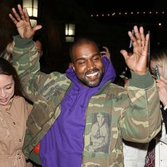 Kanye West cancels secret gig after riot nearly breaks out - BDC TV Pablo Clothing, Kanye West Smiling, Moda Kanye West, Kanye West Wallpaper, Kanye West Style, A Tribe Called Quest, Yeezy Season, Celebs, Celebrities