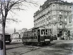 Ilyen is volt Budapest - Ferenc József (Belgrád) rakpart Old Pictures, Old Photos, Vintage Photos, History Photos, Budapest Hungary, Historical Photos, Arch, The Past, Street View