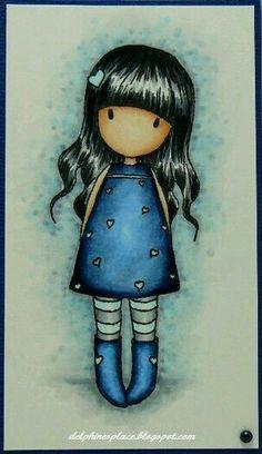 Rêve en bleu - Gorjuss