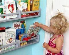 IKEA BEKVÄM spice rack – perfect for children's books! Ikea Bekvam, Ikea Spice Rack, Ikea Shoe, Ikea Malm, Best Ikea, Newspaper Crafts, Kidsroom, Boy Room, Girl Nursery