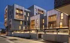 Ameller, Dubois et Associés - Architecture - Nantes - Ensemble de logements, foyer, commerces