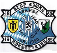 1860 Munich Cartoon | TSV 1860 München Löwen Fanclub Blue Lions XXXL Aufnäher Abzeichen