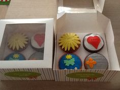 Bedankt cupcakes