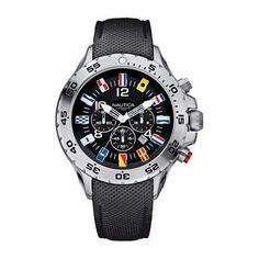 5aaf9ddcb0e7 NST Flag Chronograph Watch. Authentically detailed and nautical inspired