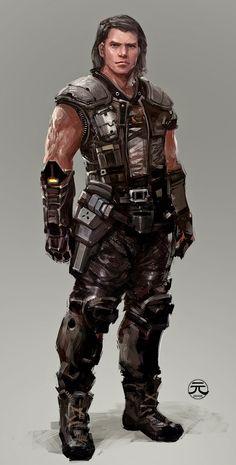 Character Concept by Guesscui.deviantart.com