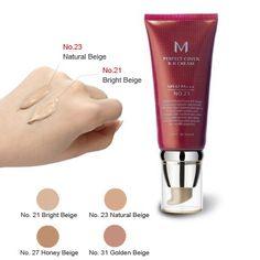 M Perfect Cover B.B Cream Cc Cream, Missha, Aesthetic Pastel Wallpaper, Bright, Makeup Foundation, Hyaluronic Acid, Moisturizer, Skin Care, Cover