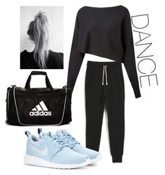"""HipHop dance outfit"" on Polyvore featuring John Elliott + Co, Crea Concept, NIKE and adidas"