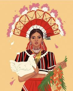The Talaandig are an Indigenous tribe in the province of Bukidnon, Mindanao Philippines. They are one of the tribes who resisted… Filipino Art, Filipino Tribal, Filipino Culture, Philippine Mythology, Philippine Art, Character Illustration, Illustration Art, Mahal Kita, Character Art
