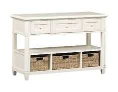Living Room Furniture, Chesapeake Bay Sofa Table | Havertys Furniture