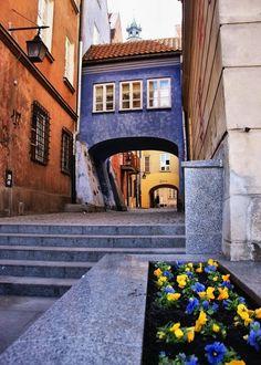 Warszawa, Stare Miasto / Warsaw, The Old Town, Poland