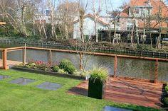 Hek langs water google zoeken retaining walls pinterest tuin