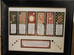 Personalized Scripture Art...for him
