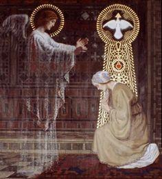 The Annunciation by Helena Vurnik