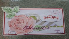 Fabelhafte Papierwelten: Glückwunschkarte   Das ist er . . . mein erster kr... Stampin Up, Paper, Boxes, Birthday, Weihnachten, Projects, Cards, Foil Stamping