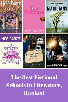 Our Favorite Fictional Schools in Teen and Young Adult Books, including Hogwarts, Ender's Battle School, and more!
