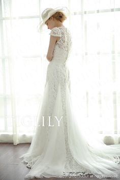 ウェディングドレス、ホワイトウエディングドレス、Aライン、プリンセス、スレンダー、エンパイア