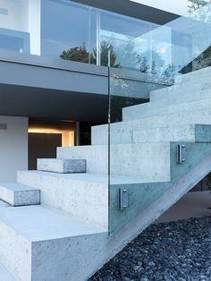 Feldbalz House by Gus Wüstemann 9 Contemporary Family Home Exposed To Inspiring Lake Zurich Views