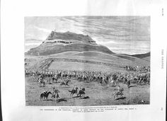 This Day in History: Feb 27, 1881: The Battle of Majuba Hill, South Africa http://dingeengoete.blogspot.com/ http://www.old-print.com/mas_assets/full2/M1230881/M1230881493.jpg