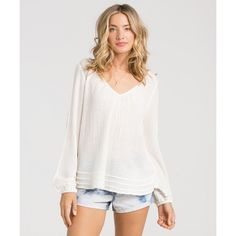 Get free shipping at the Billabong online store. Dream of beachside fruit stands and long stretches of empty shores in this south of the border inspired top.