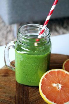 Groene smoothie met boerenkool, goed voor je weerstand