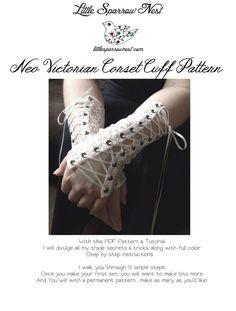 Make Lace Fingerless Gloves Pattern