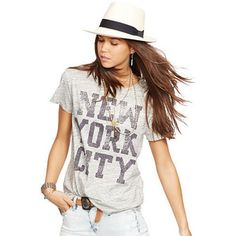 Ralph Lauren Denim & Supply  Drapey New York City Tee