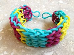 Beach Umbrella Rubber Band Bracelet
