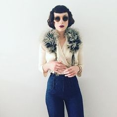 @Bisforbrittany | 19 Women With Vintage Style You'll Want to Follow on Instagram