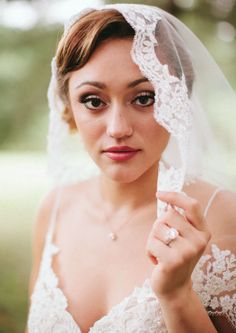 Belaire bridal veil, $182 at Normans Jewelry & Bridal Shoppe in Lebanon.