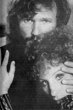 Barbra Streisand and Kris Kristofferson 1976 Movies, Kris Kristofferson, Hollywood Star, Classic Hollywood, Picture Icon, Barbra Streisand, A Star Is Born, Pretty Photos, Hello Gorgeous
